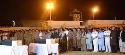 Namaz-e-Janaza of two martyred Army men held