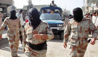 Rangers seizes huge cache of arms from Karachi