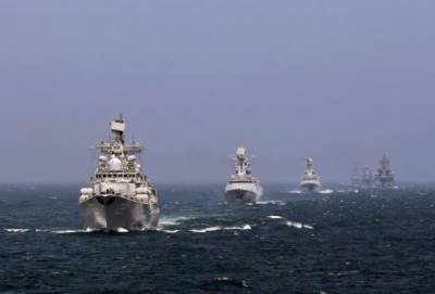 China - Russia joint naval exercises in South China Sea