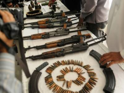 FC recovers arms, ammunitions and explosive devices