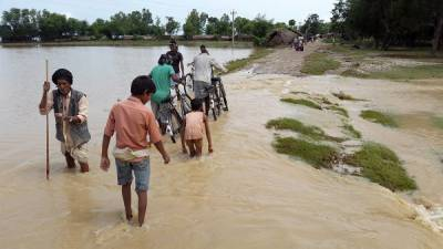 India releases flood water causing high flood