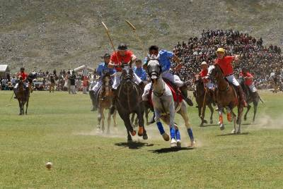 Shandoor polo festival at World's highest Polo ground