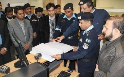 Islamabad police launch system to maintain record of criminals