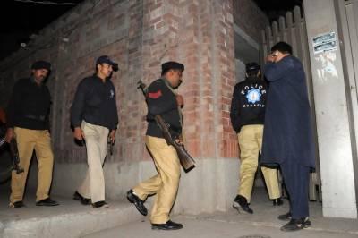 KPK Police crackdown against suspects after Peshawar blast