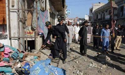 Peshawar Bomb Blast at Charsada Adda