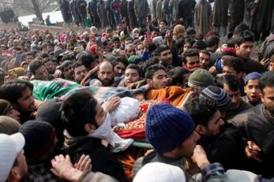 Indian troops state terrorism martyrs two more Kashmiris