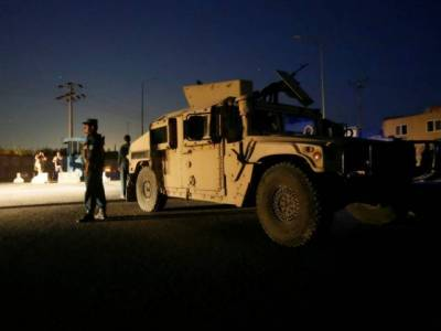 Truck bomb strikes foreign guest house in Kabul