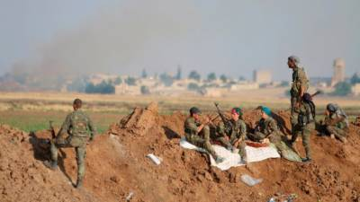 US backing Kurd fighters against ISIS in Syria