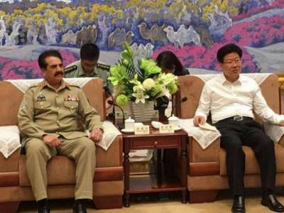 COAS discusses bilateral security cooperation with Chinese counterpart
