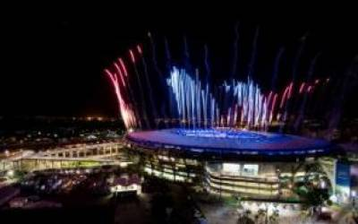 2016 Rio Olympics kick off at Maracana Stadium Brazil