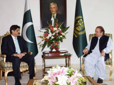 CM Sindh discusses Karachi law and order with PM Nawaz Sharif