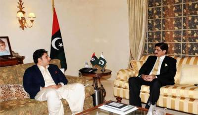Singh CM holds meeting with Chairman Bilawal Bhutto