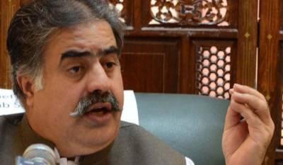 Chief Minister Baluchistan Sanaullah Zehri raises his voice against RAW