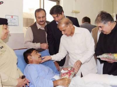 CM Shehbaz Sharif visits CMH Quetta