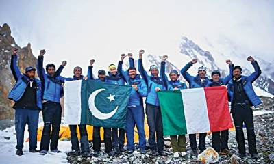 World renowned mountainer groups trekking parties visit Pakistan for expeditions