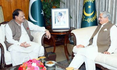 Pak - AJK Presidents vow to support just cause of Kashmiris right