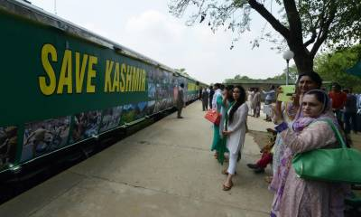 Pakistan Railways extend route and time of Azadi Train