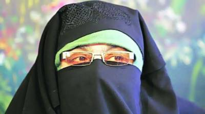 Aasiya Andrabi injured in Kashmir by Indian Troops
