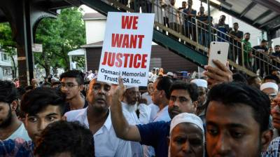 New York Police detain suspect over mosque imam killing