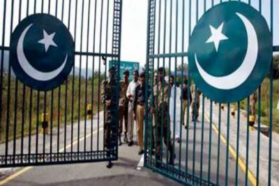 Pakistan-Gate Construction at Iran border in final stage