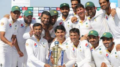 Where does Pakistan stand in International Test Cricket rankings?
