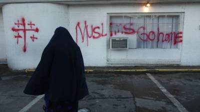 Another incidence of hate crime against Muslims in USA