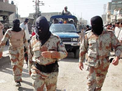 Rangers arrests target killers from Bahadrabad, Karachi