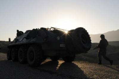 Turkish Military convoy under attack in southeast Turkey