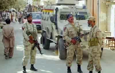 FC seizes suspected militants with arms in Quetta