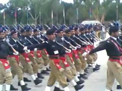 Passing out parade in KPK Police Training College