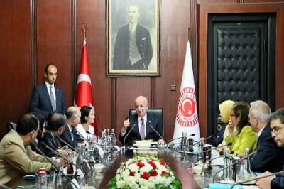 Speaker Turkish Assembly thanks Pakistan for support