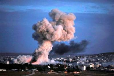 US and Syria at odds over airstrikes on Kurds