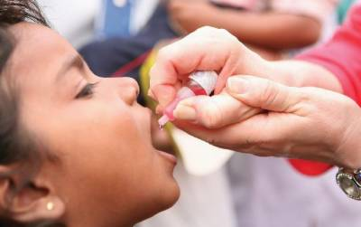 Anti-polio drive launched in Punjab