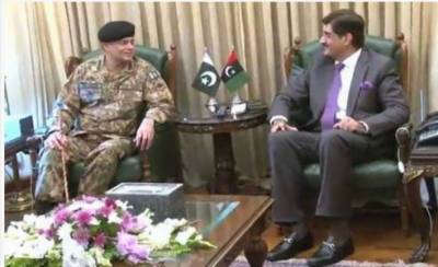 Corps Commander Karachi calls on Sindh Chief Minister