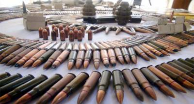 Frontier Corps seizes huge cache of explosives in Baluchistan