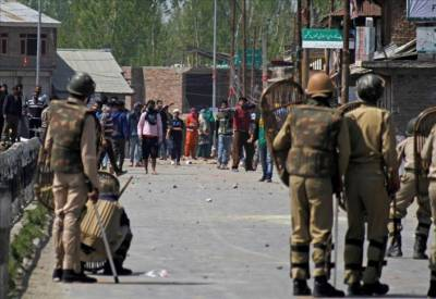 Government employees arrested in Indian Held Kashmir for anti-government protests