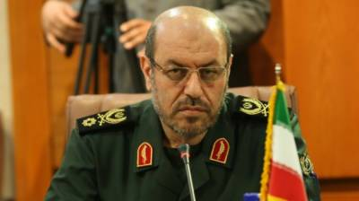 Iran's Defence Minister speak against ally Russia