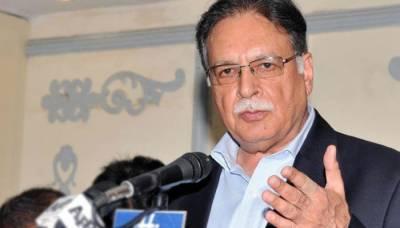 Pervaiz Rashid meeting with MQM leadership in Karachi