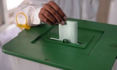 AJK Elections :Masood Khan sworn in as AJK President