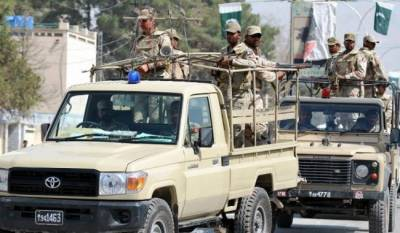 Levies Check Post attacked by militants