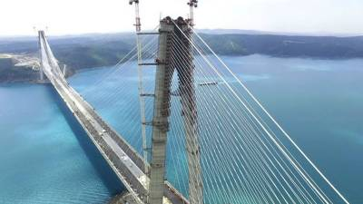 New Istanbul bridge linking Europe-Asia opens