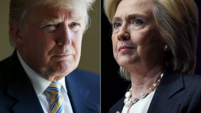 Trump, Clinton exchange racial charges