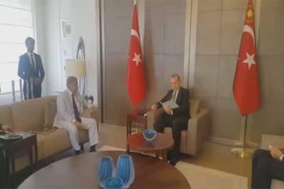 Shehbaz Sharif meets Recep Tayyip Erdogan in Istanbul
