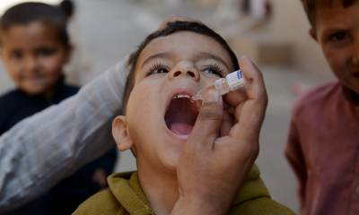 Anti-polio drive in Baluchistan : 1.6 million children target