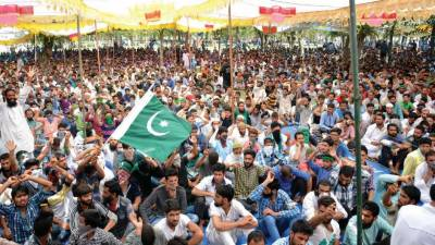 Thousands attended pro-freedom rallies in Indian Occupied Kashmir
