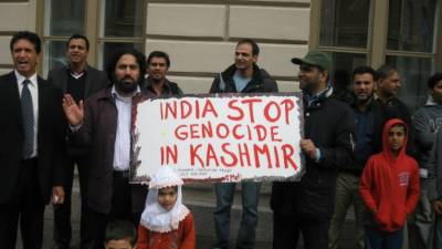 Kashmiri and Pakistani Diaspora in UK up against Indian brutalities