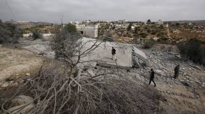Israeli Military destroys home of Palestinian