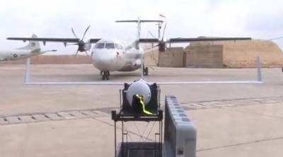 Pakistan Navy inducts state of the art Scan Eagle UAV and ATR