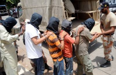 Pakistan Rangers Sindh arrests four suspects over terrorism charges