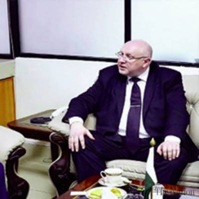 Ambassador of Belarus meets KP Governor